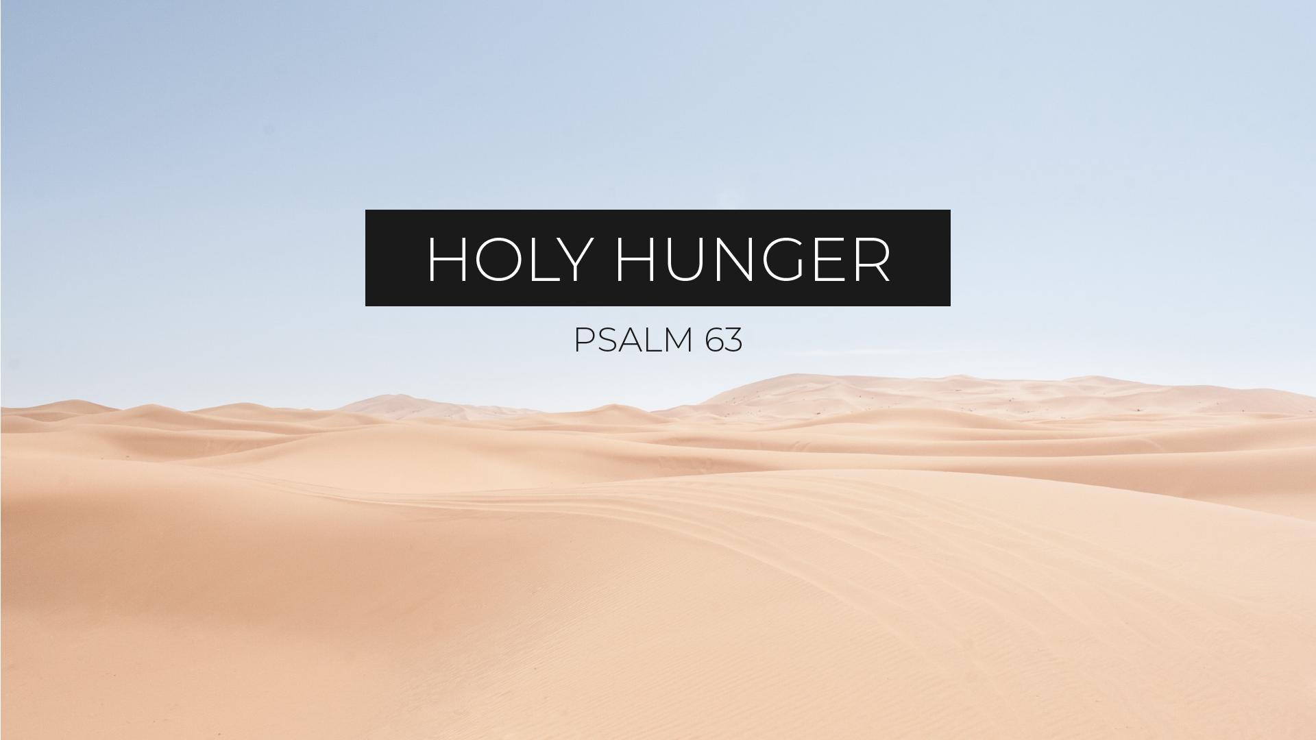 Holy Hunger // John Clarke
